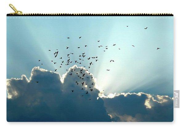 Sun Ray Aerobatics Blue Sky Carry-all Pouch