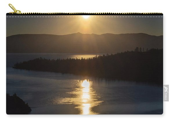 Sun Rising Over Lake Tahoe Carry-all Pouch