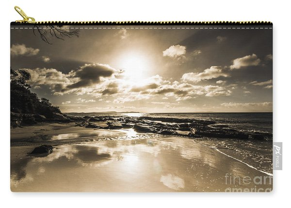 Sun Sand And Sea Reflection Carry-all Pouch