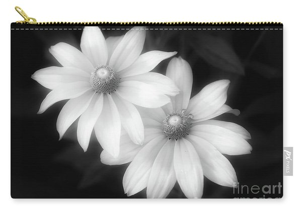 Sun Sisters In Black And White Carry-all Pouch