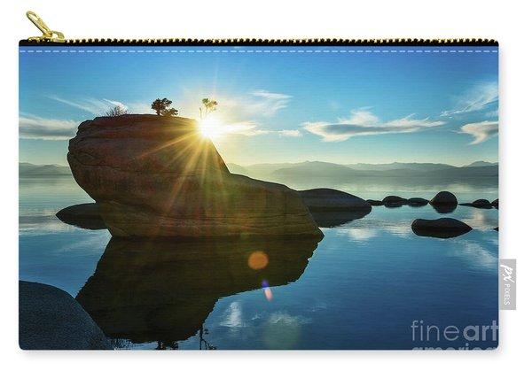Sun Star Mirror Carry-all Pouch