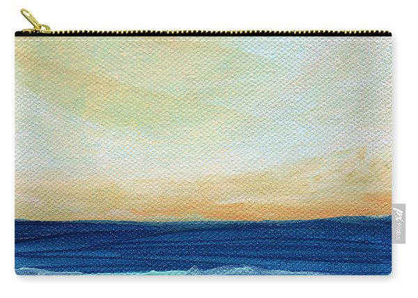 Sun Swept Coast- Abstract Seascape Carry-all Pouch