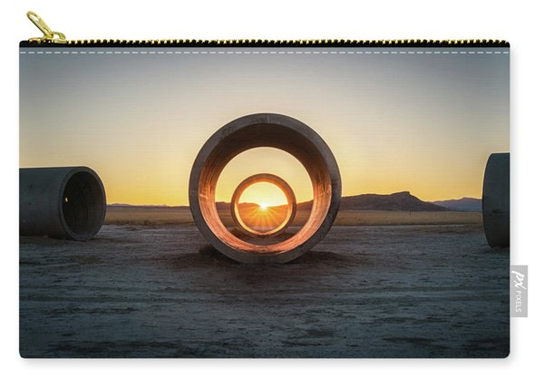 Sun Tunnel Solstice Carry-all Pouch