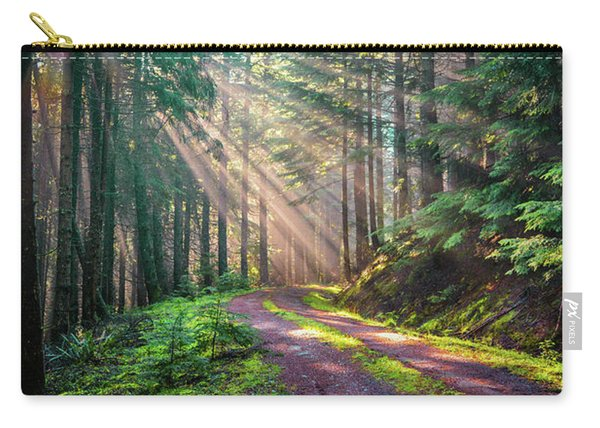 Sunbeams In Trees Carry-all Pouch