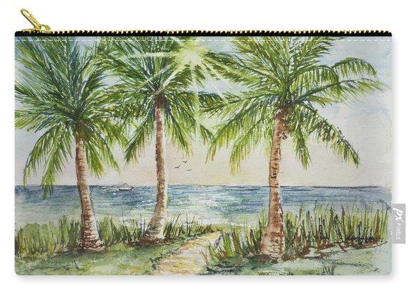 Sunburst Beach Morning Carry-all Pouch