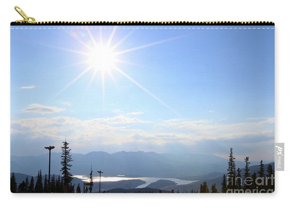 Sunburst Over Lake Dillon Carry-all Pouch