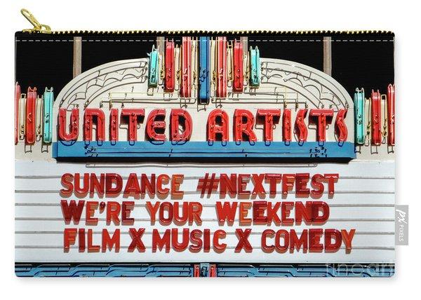 Sundance Next Fest Theatre Sign 1 Carry-all Pouch