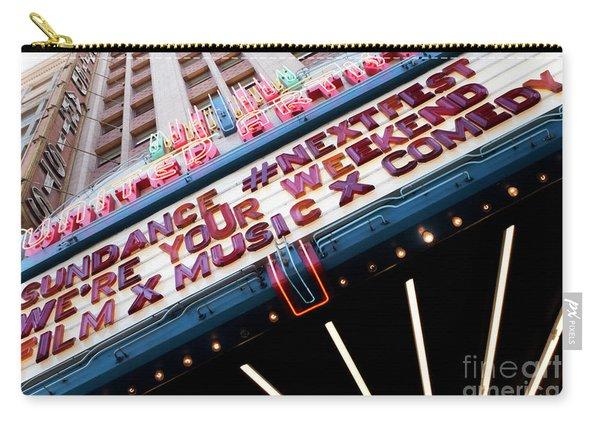 Sundance Next Fest Theatre Sign 3 Carry-all Pouch