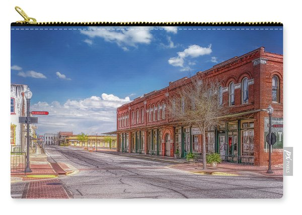 Sunday In Brenham, Texas Carry-all Pouch