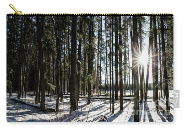 Sundial Forest Carry-all Pouch