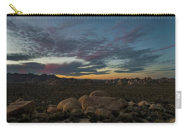 Sundown From Hilltop View Carry-all Pouch