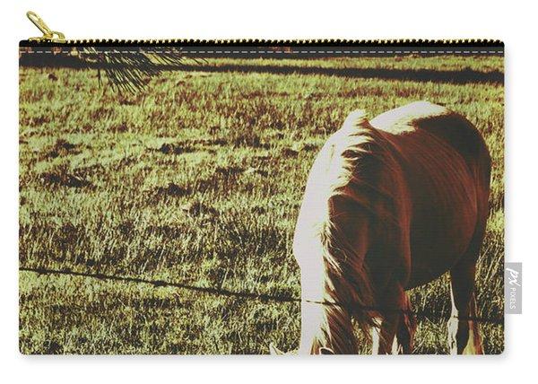 Sundown Horse Meadow Carry-all Pouch