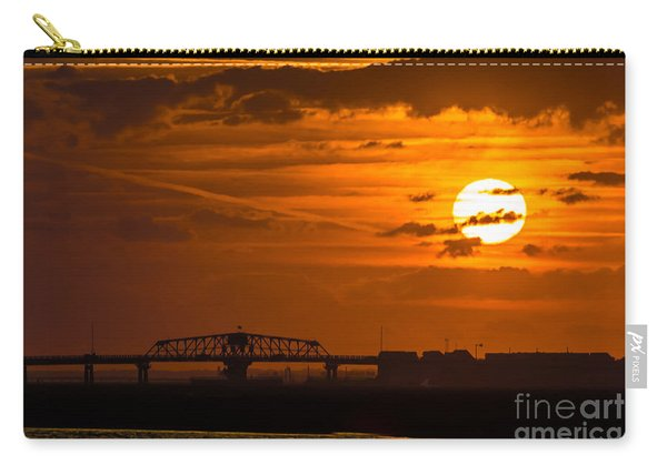 Sundown On The Charleston Coast  Carry-all Pouch