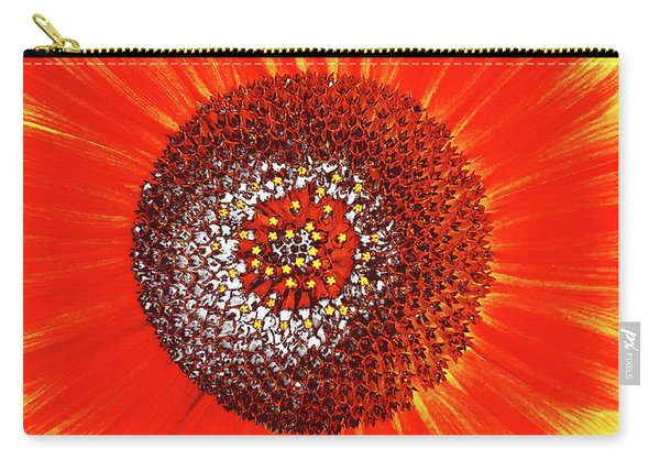 Sunflower Close Carry-all Pouch