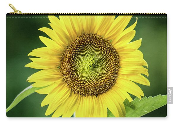 Sunflower In Bloom Carry-all Pouch