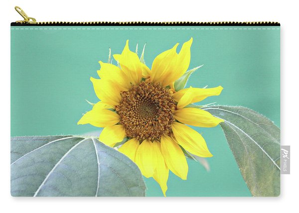 Sunflower In The Summer Time Carry-all Pouch