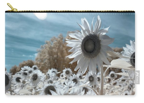 Sunflower Infrared  Carry-all Pouch