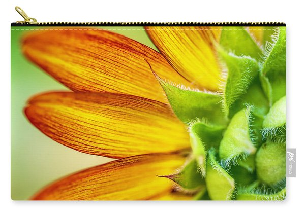 Sunflower Macro 1 Carry-all Pouch