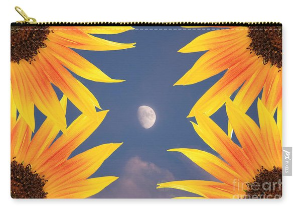 Sunflower Moon Carry-all Pouch
