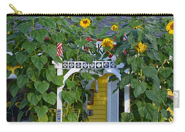 Sunflower Roads Carry-all Pouch