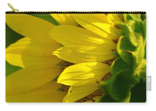 Sunflower Side Carry-all Pouch