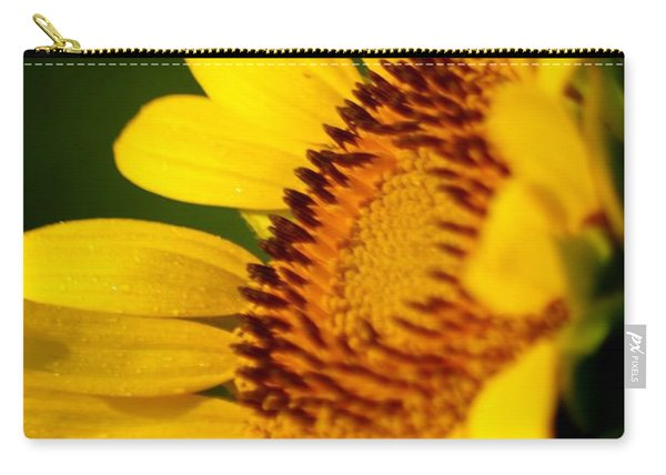 Sunflower Side Light Carry-all Pouch