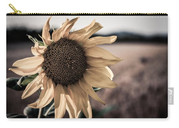 Sunflower Solitude Carry-all Pouch
