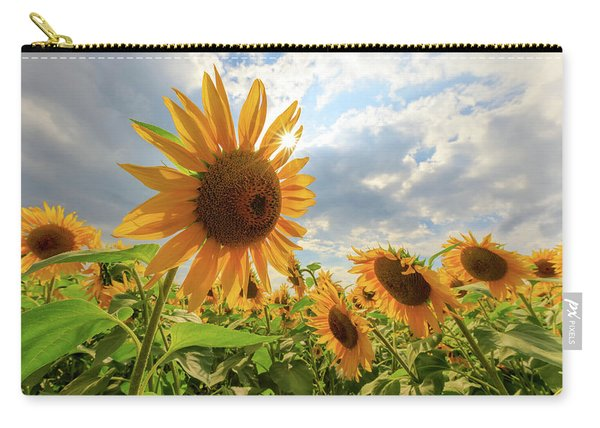 Sunflower Star Carry-all Pouch