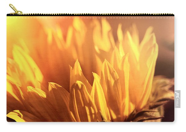 Sunflower To The Sky Carry-all Pouch