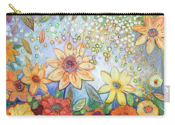 Sunflower Tropics Carry-all Pouch