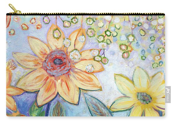 Sunflower Tropics Part 2 Carry-all Pouch