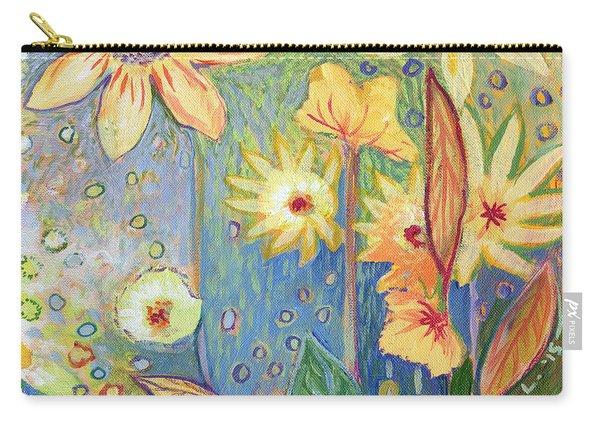 Sunflower Tropics Part 3 Carry-all Pouch