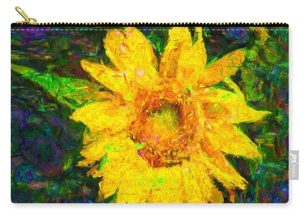 Sunflower Van Gogh Carry-all Pouch