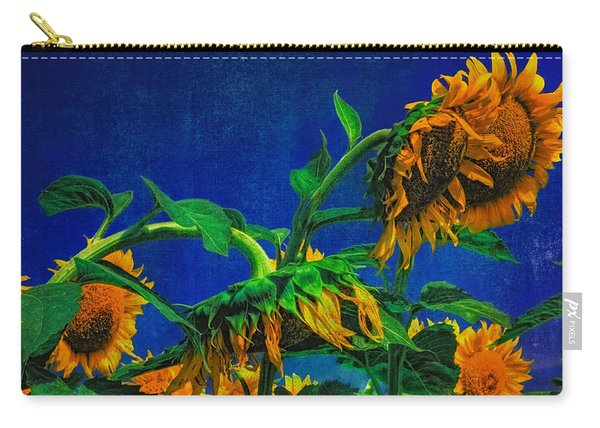 Sunflowers Awakening Carry-all Pouch