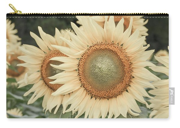 Sunflowers Detail Carry-all Pouch