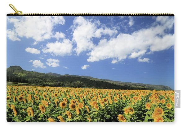 Sunflowers In Waialua Carry-all Pouch