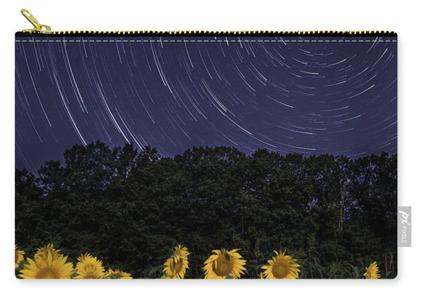 Sunflowers Under The Night Sky Carry-all Pouch