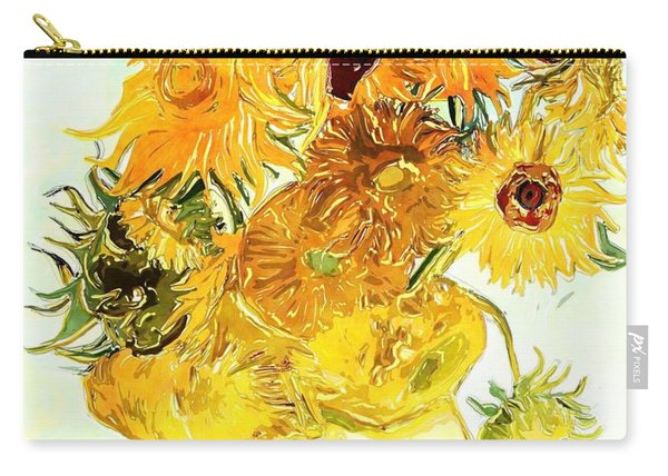 Sunflowers Van Gogh Carry-all Pouch