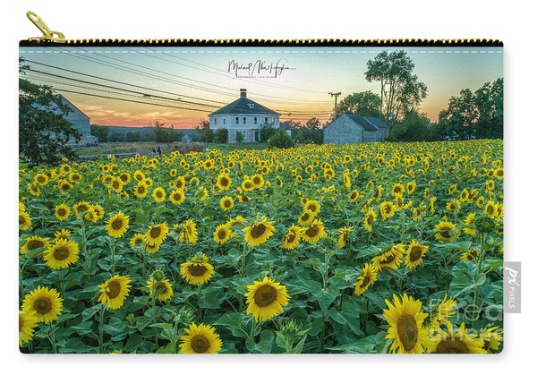 Sunflowers For Wishes  Carry-all Pouch