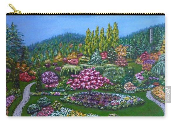 Sunken Garden Carry-all Pouch