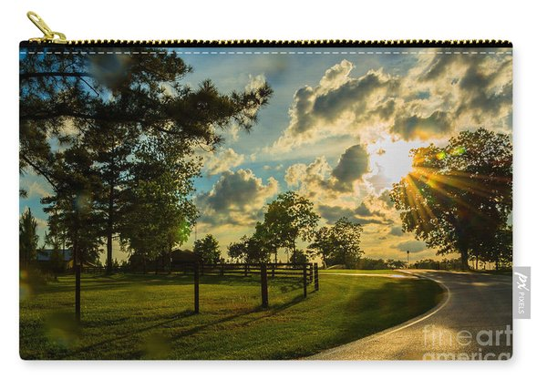Sunlight Around The Corner Carry-all Pouch