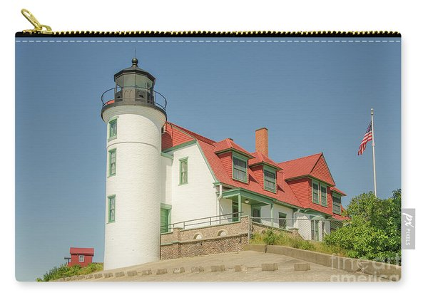 Sunlight On Point Betsie Lighthouse Carry-all Pouch