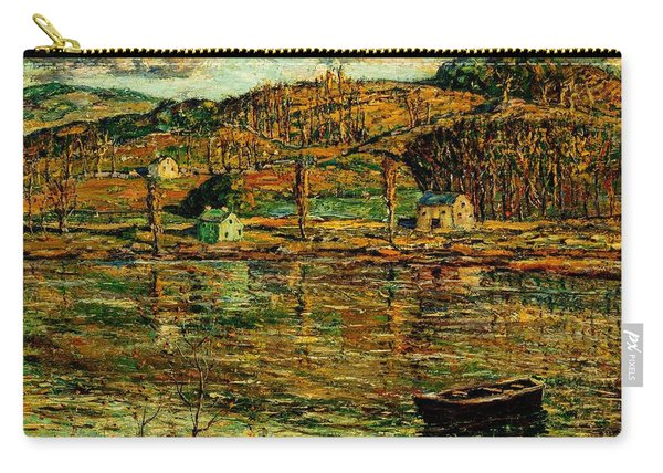 Sunlight On The Harlem River 1919 Carry-all Pouch