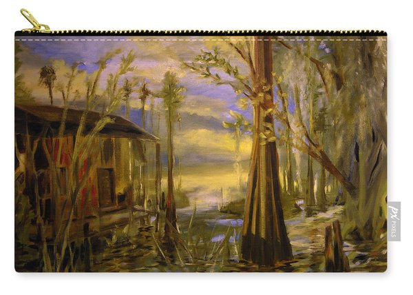 Sunlight On The Swamp Carry-all Pouch