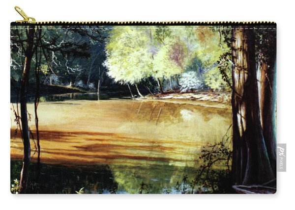 Sunlight On Village Creek Carry-all Pouch