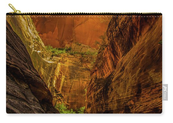 Sunlit Colors In The Slot Carry-all Pouch