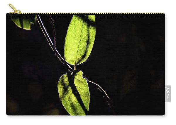 Sunlit Leaves Carry-all Pouch