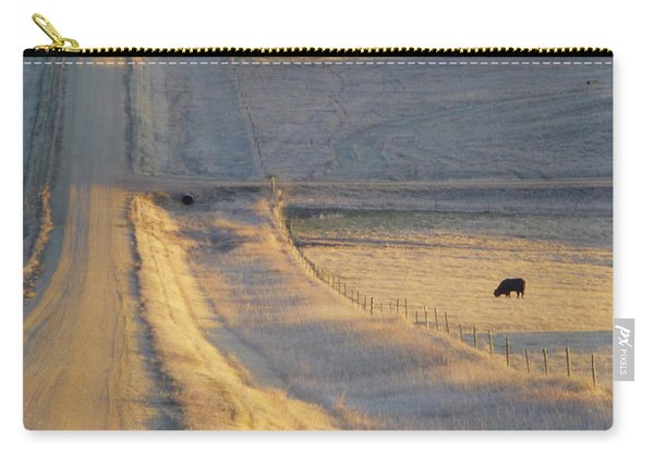 Sunlit Road Carry-all Pouch
