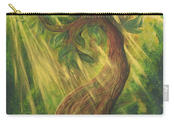 Sunlit Tree Carry-all Pouch