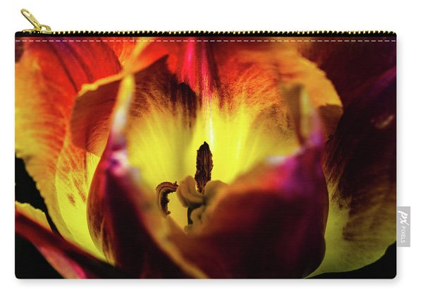Sunlit Tulip Carry-all Pouch